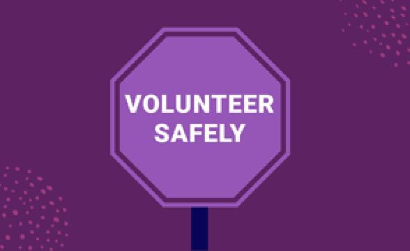 Considering volunteering? You can do it safely